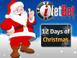 iNetBet 12 Day of Casino Christmas