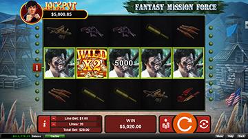 Fantasy Mission Force Casino Screen Shot